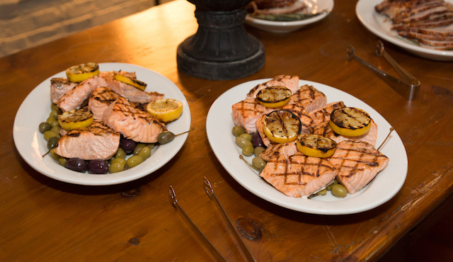 Mediterranean-style Salmon with Olives (photo Ed Cody)