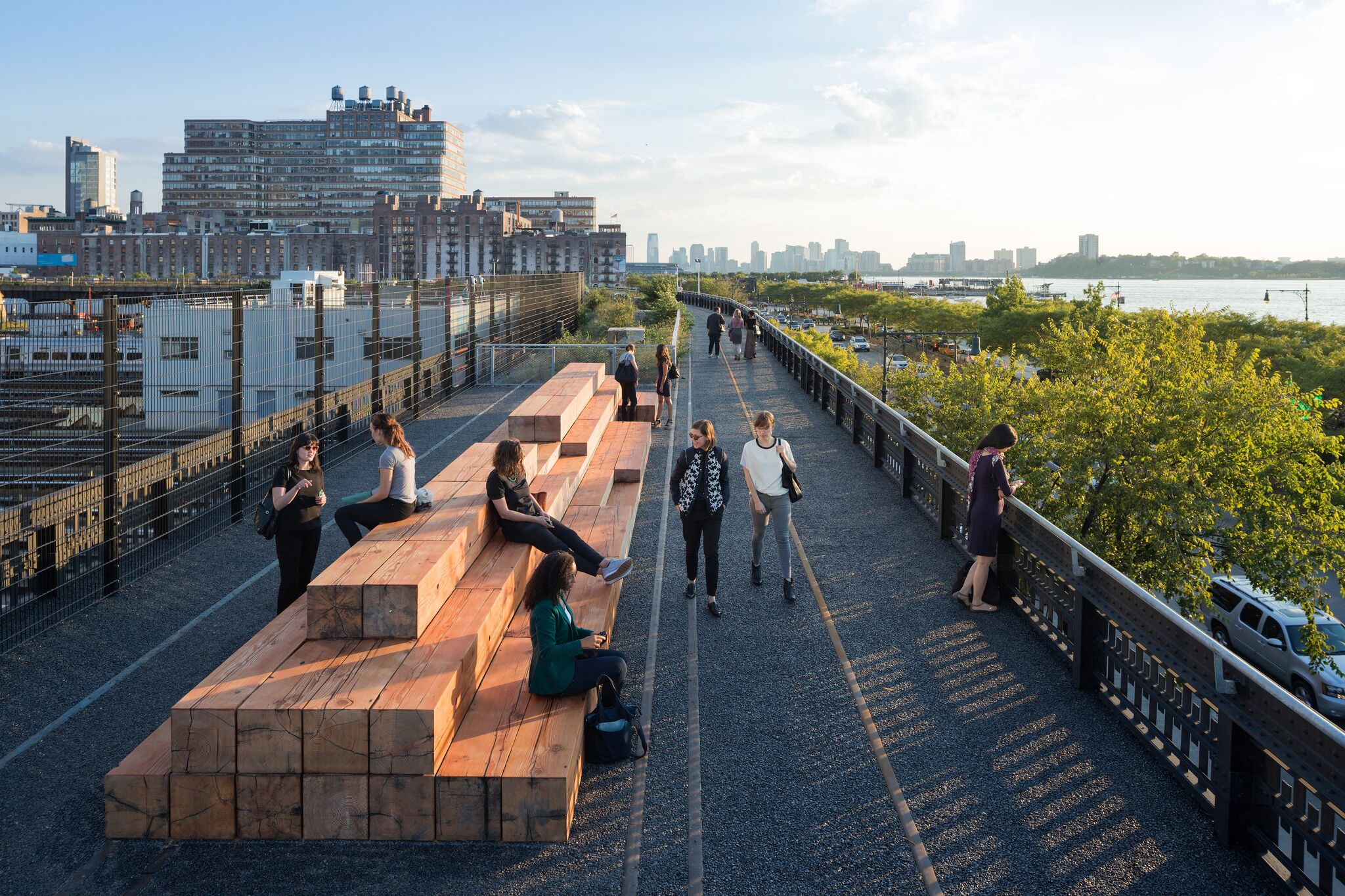 KK&P Seeking Food and Coffee Vendors for the High Line