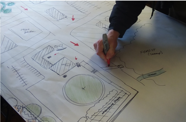 RINLA Apprentice Landscape Drawing
