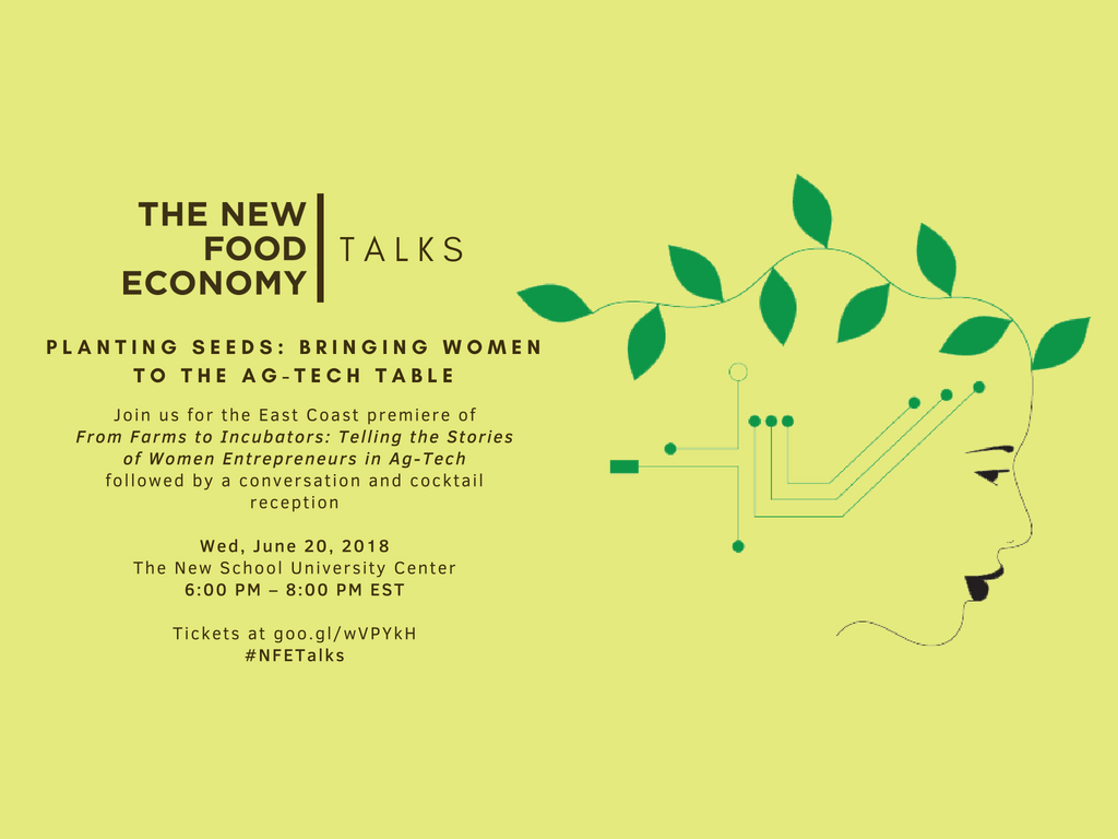 Join KK&P and The New Food Economy for a Screening and Conversation about Bringing Women to the Ag-Tech Table