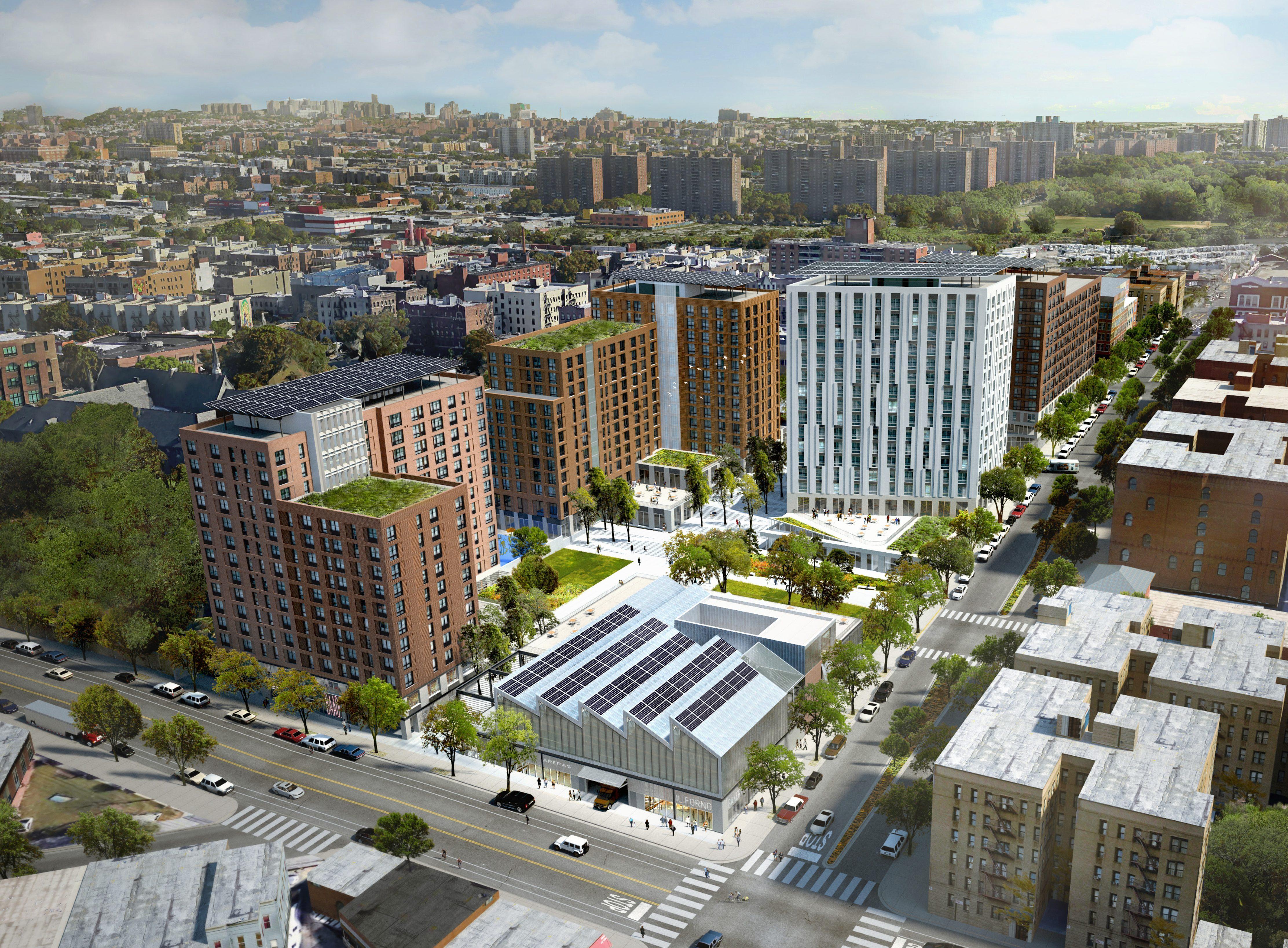 Bronx Peninsula Arial View